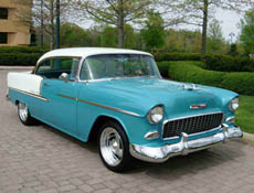 1955 chevy brings back the memories